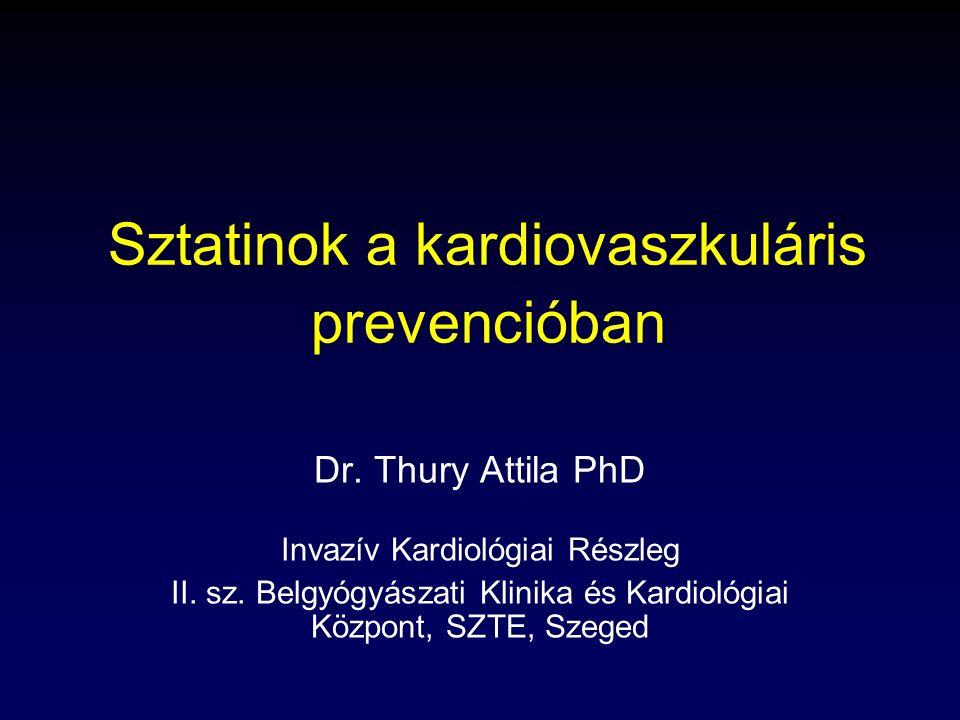 Sztatinok a kardiovaszkuláris prevencióban
