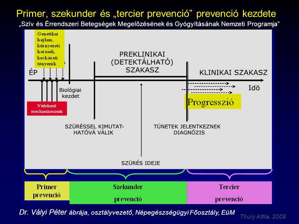 """Primer, szekunder és """"tercier prevenció prevenció kezdete"""