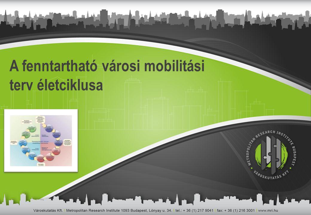A fenntartható városi mobilitási terv életciklusa