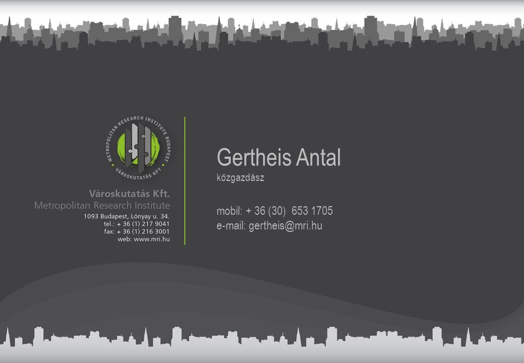 Gertheis Antal mobil: + 36 (30) 653 1705 e-mail: gertheis@mri.hu