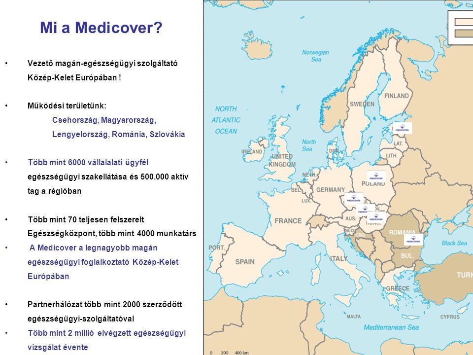 Mi a Medicover Vezető magán-egészségügyi szolgáltató Közép-Kelet Európában ! Működési területünk:
