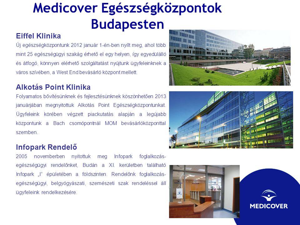Medicover Egészségközpontok Budapesten