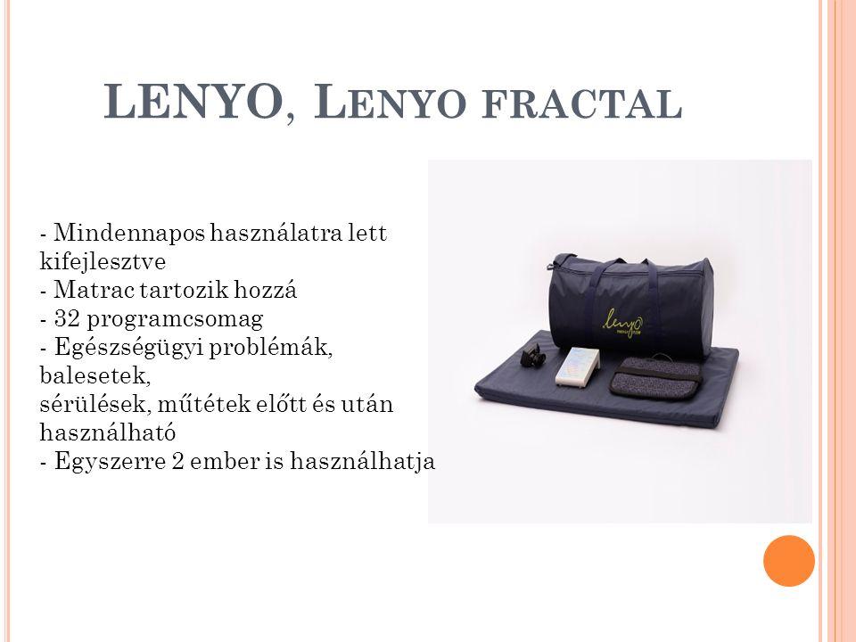 LENYO, Lenyo fractal Mindennapos használatra lett kifejlesztve