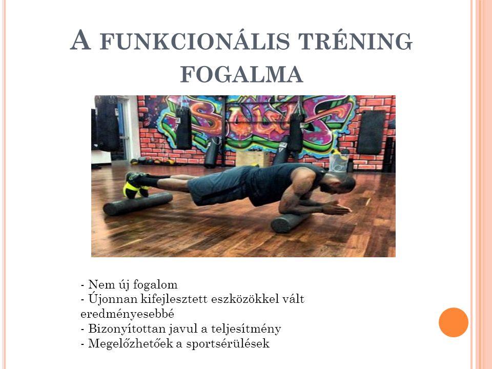 A funkcionális tréning fogalma