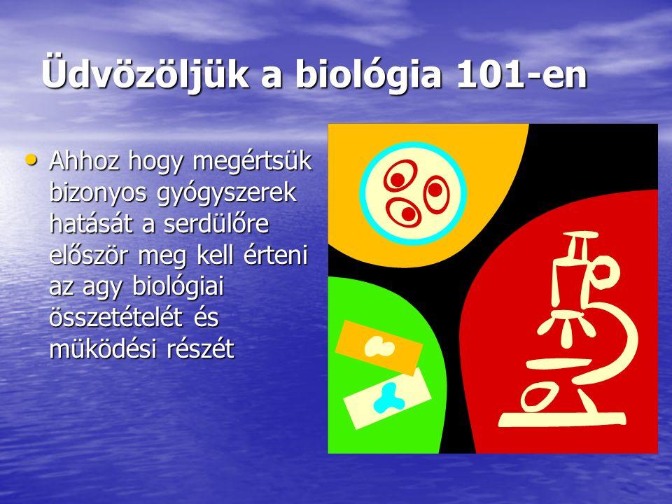 Üdvözöljük a biológia 101-en