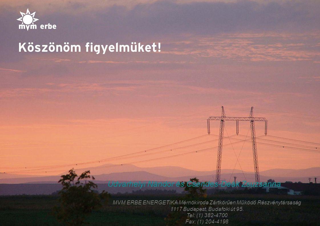 MVM ERBE ENERGETIKA Mérnökiroda Zártkörűen Működő Részvénytársaság