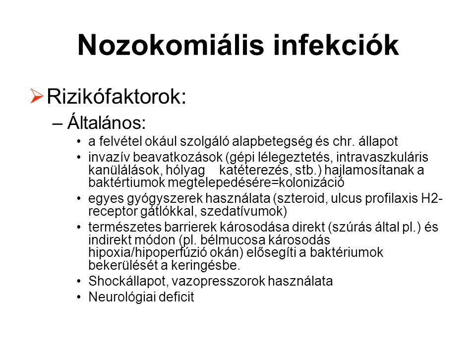 Nozokomiális infekciók
