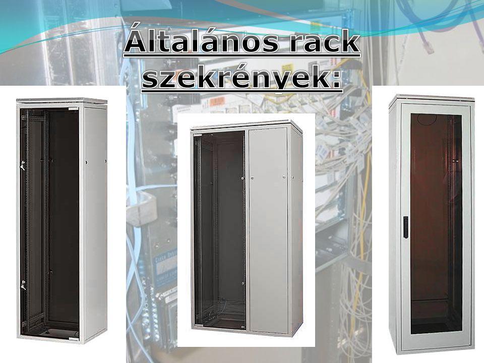 Általános rack szekrények: