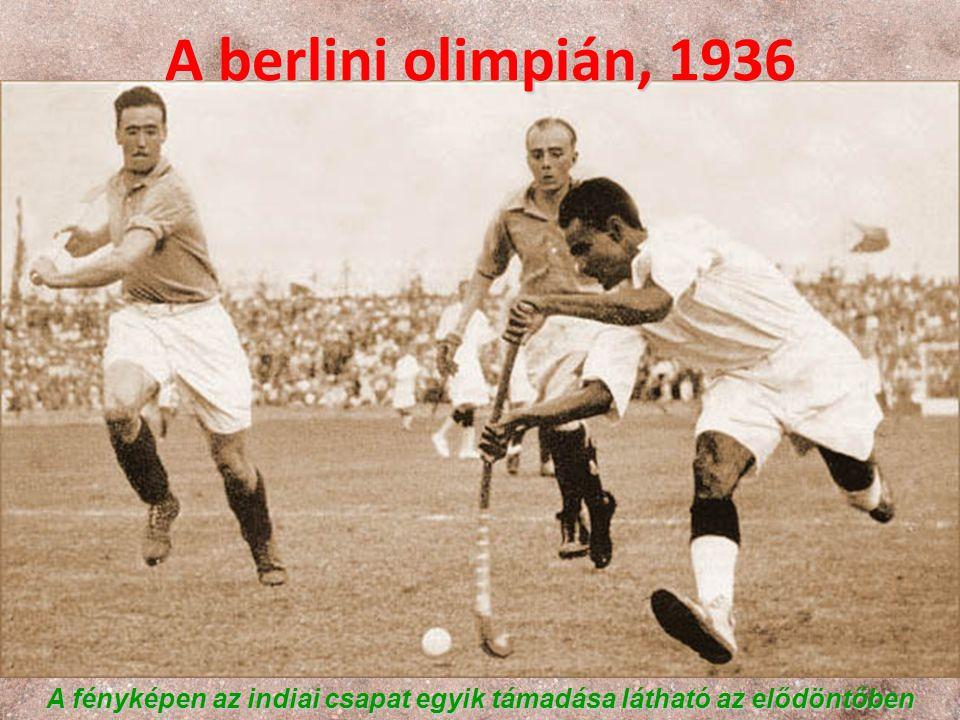 A fényképen az indiai csapat egyik támadása látható az elődöntőben