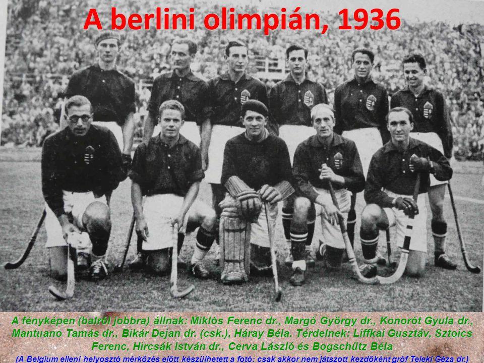 A berlini olimpián, 1936