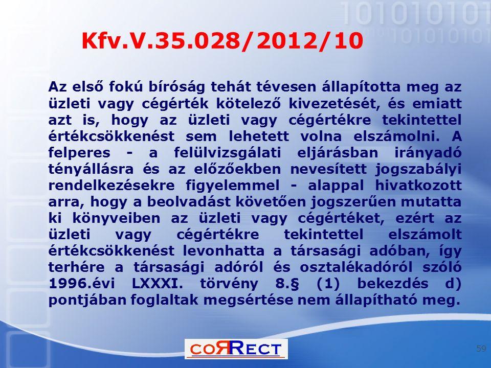Kfv.V.35.028/2012/10