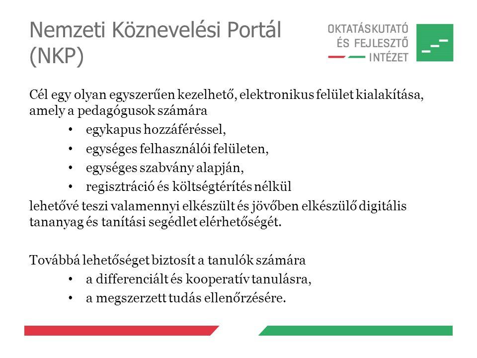 Nemzeti Köznevelési Portál (NKP)
