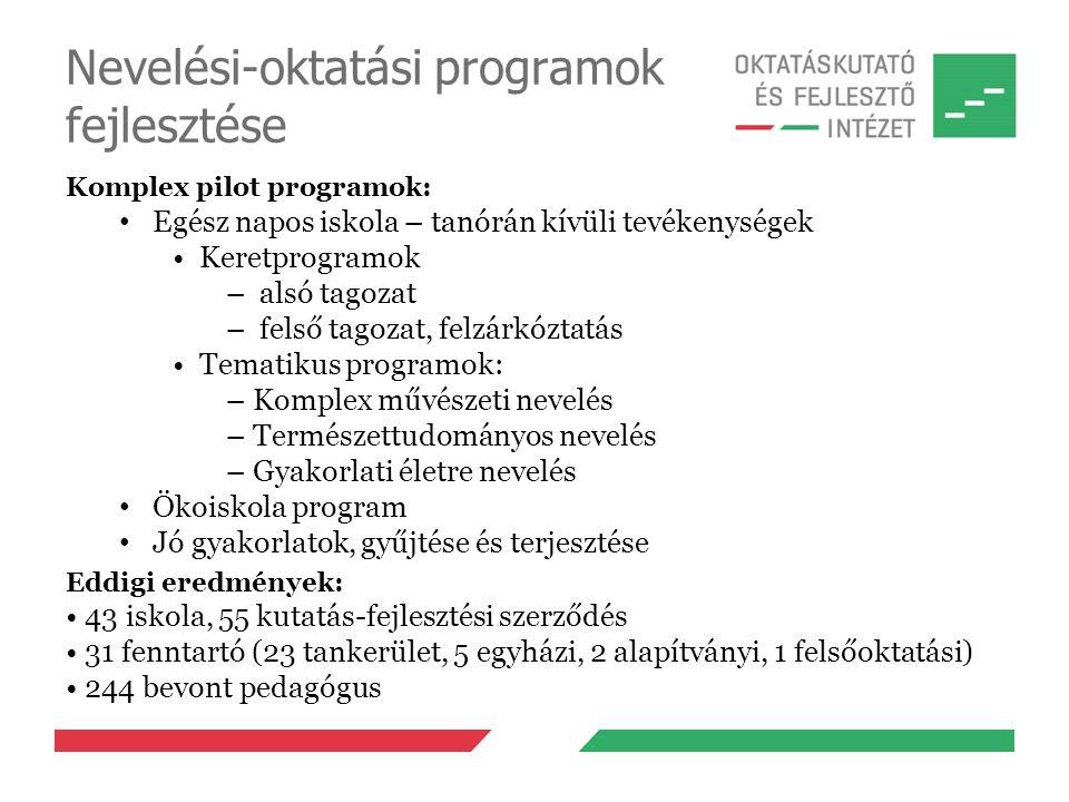 Nevelési-oktatási programok fejlesztése