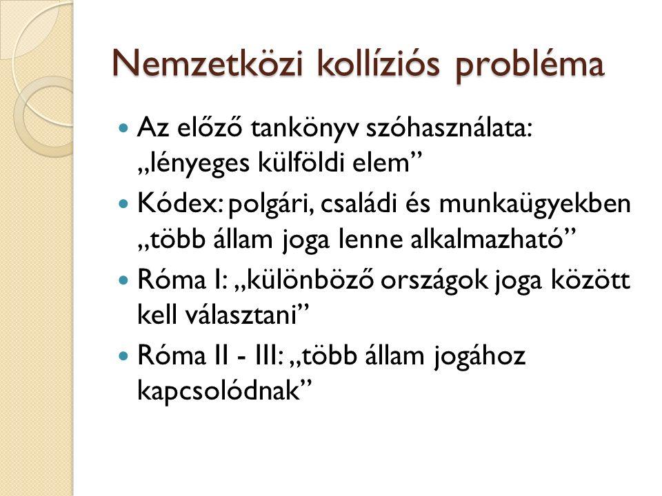 Nemzetközi kollíziós probléma
