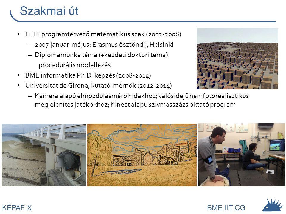 Szakmai út ELTE programtervező matematikus szak (2002-2008)