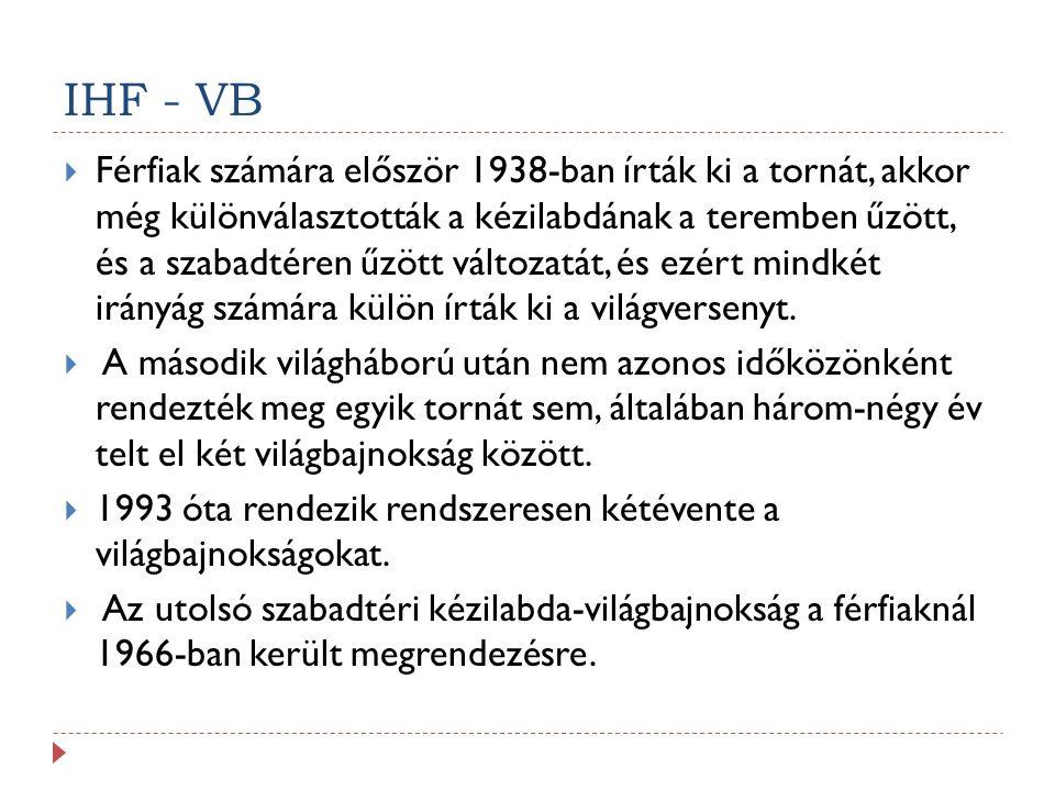IHF - VB