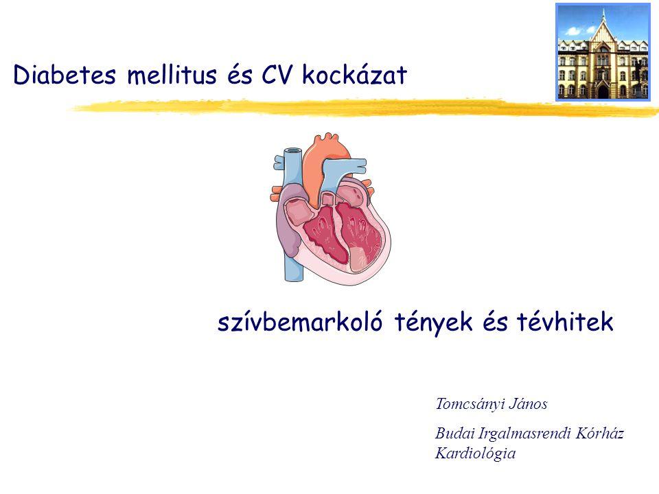 Diabetes mellitus és CV kockázat