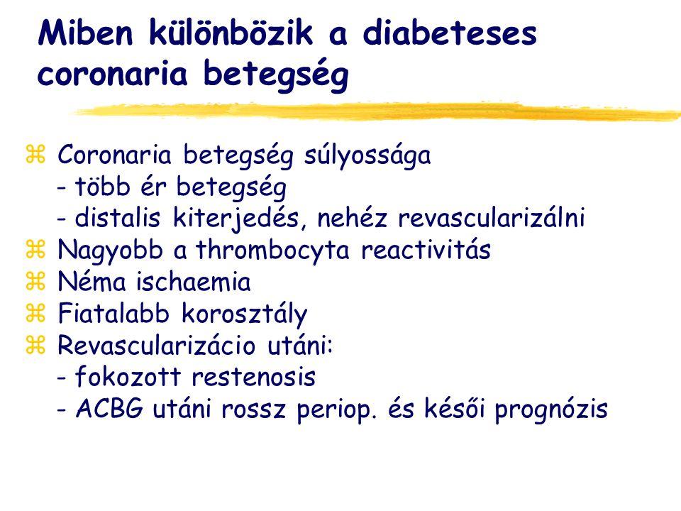 Miben különbözik a diabeteses coronaria betegség