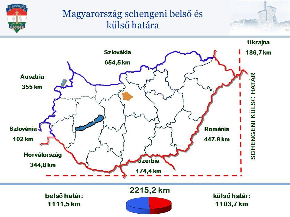 Magyarország schengeni belső és külső határa
