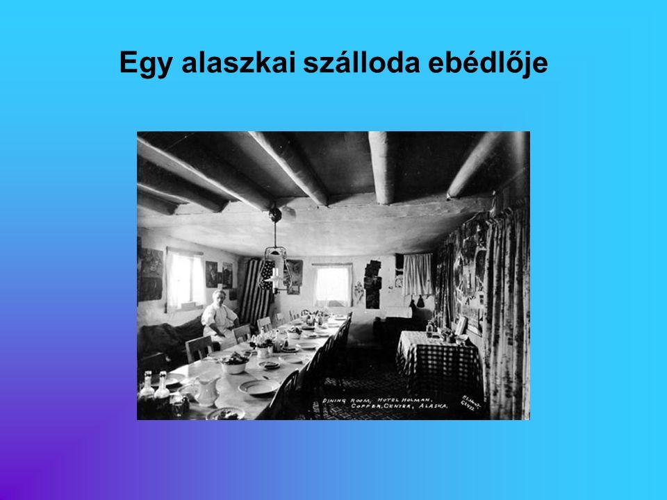 Egy alaszkai szálloda ebédlője