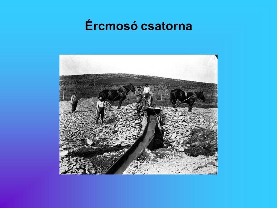 Ércmosó csatorna Eredeti képaláírás: