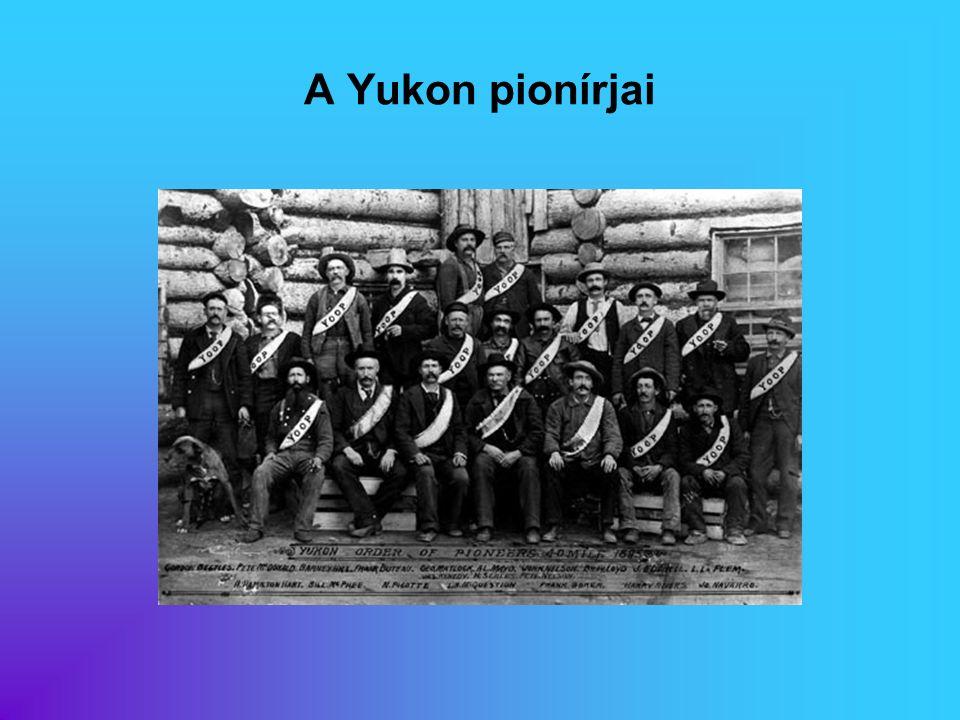 A Yukon pionírjai Eredeti képaláírás: