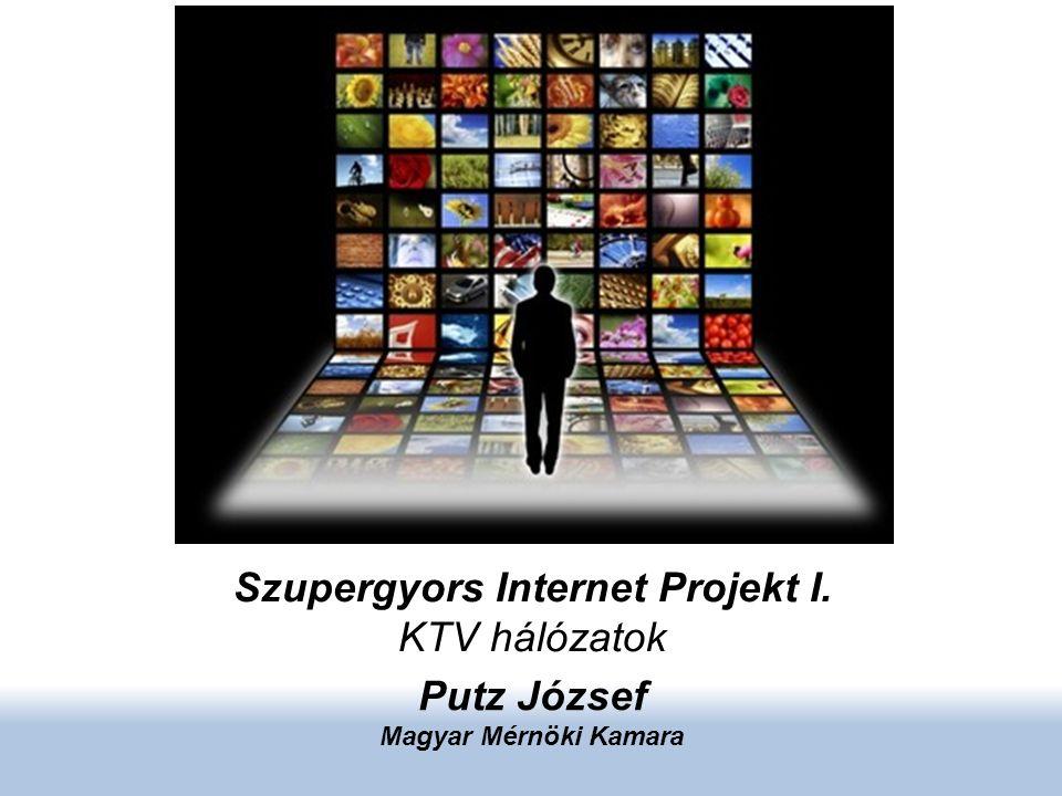 Szupergyors Internet Projekt I. KTV hálózatok