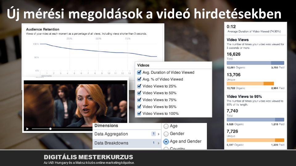 Új mérési megoldások a videó hirdetésekben