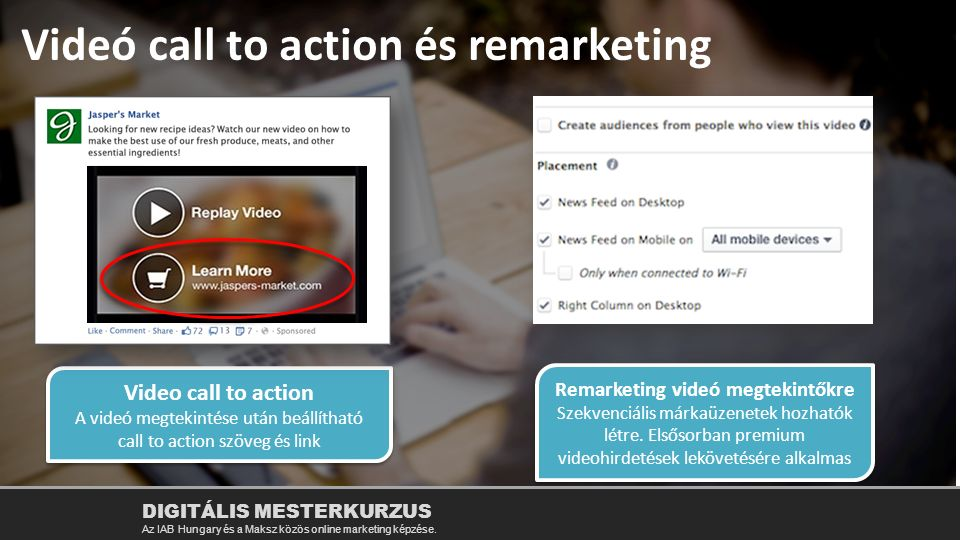Remarketing videó megtekintőkre