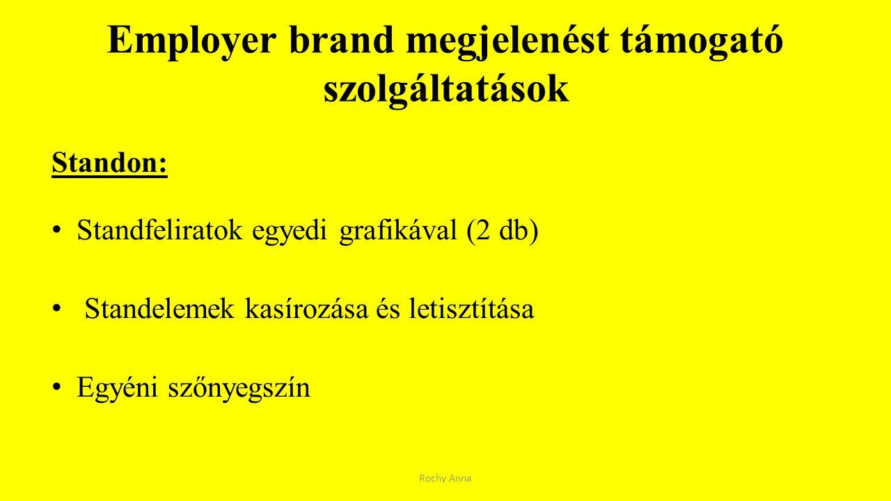 Employer brand megjelenést támogató szolgáltatások