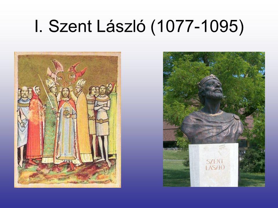 I. Szent László (1077-1095)