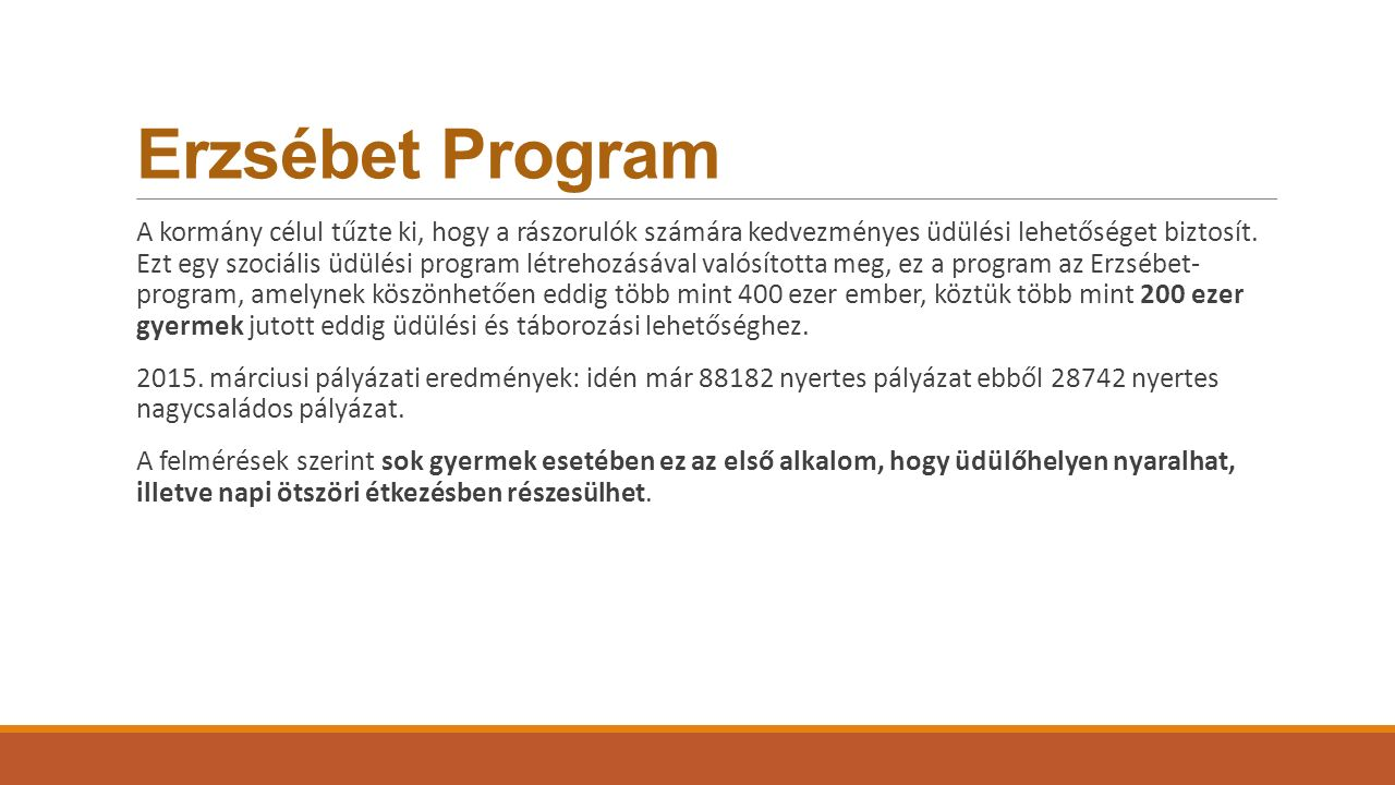 Erzsébet Program