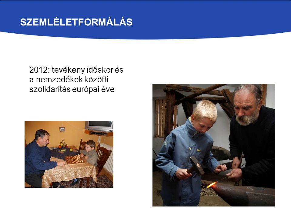 Szemléletformálás 2012: tevékeny időskor és a nemzedékek közötti