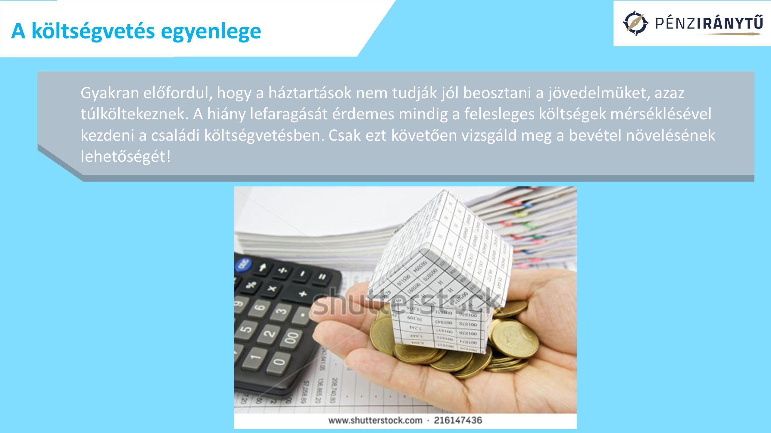 A költségvetés egyenlege