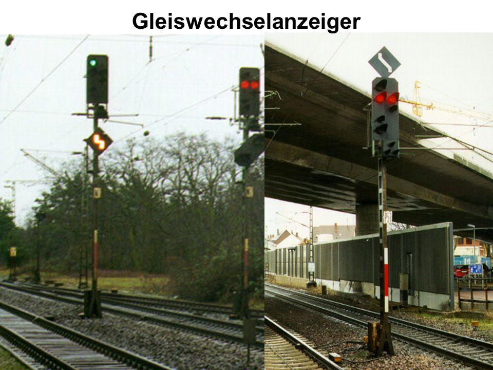 Gleiswechselanzeiger