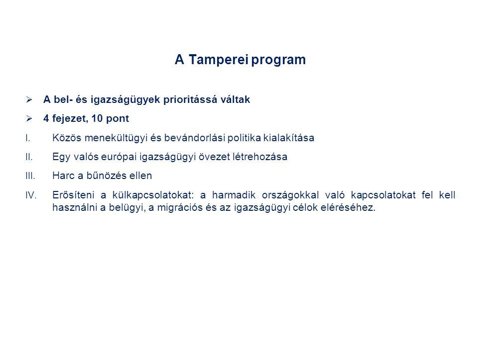 A Tamperei program lefektette a közös menekültügyi és bevándorlási politika alapjait