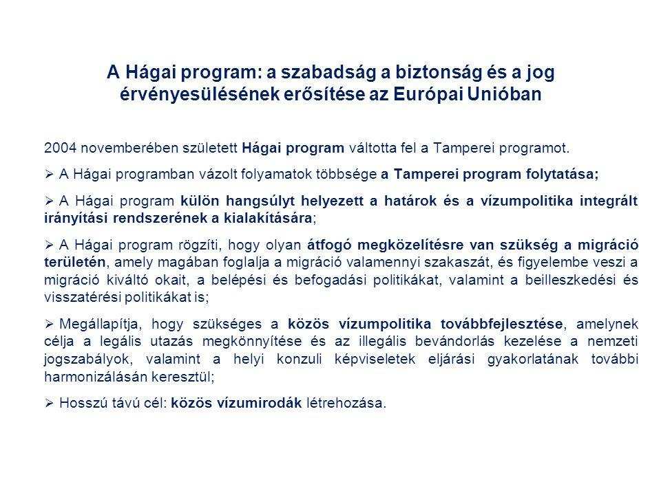A Hágai program