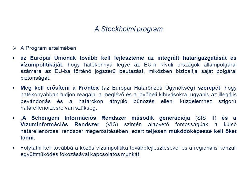A Stockholmi program