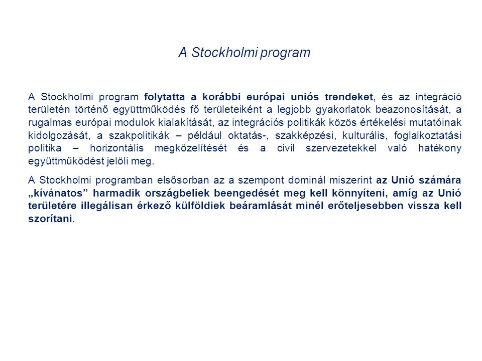 Az Európai Tanács 2014. június 27-én elfogadott következtetései