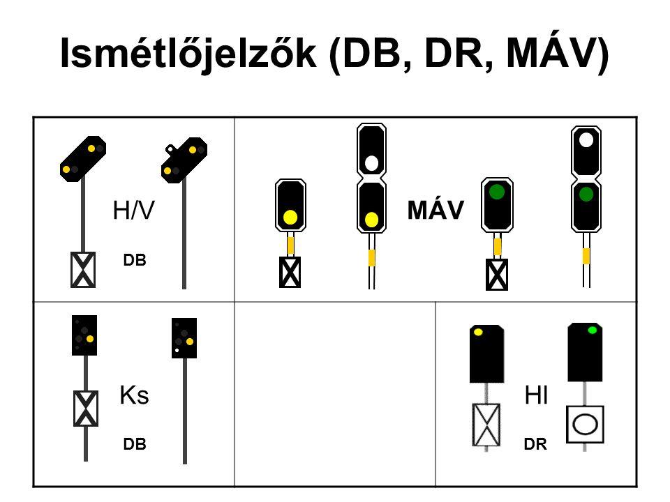Ismétlőjelzők (DB, DR, MÁV)