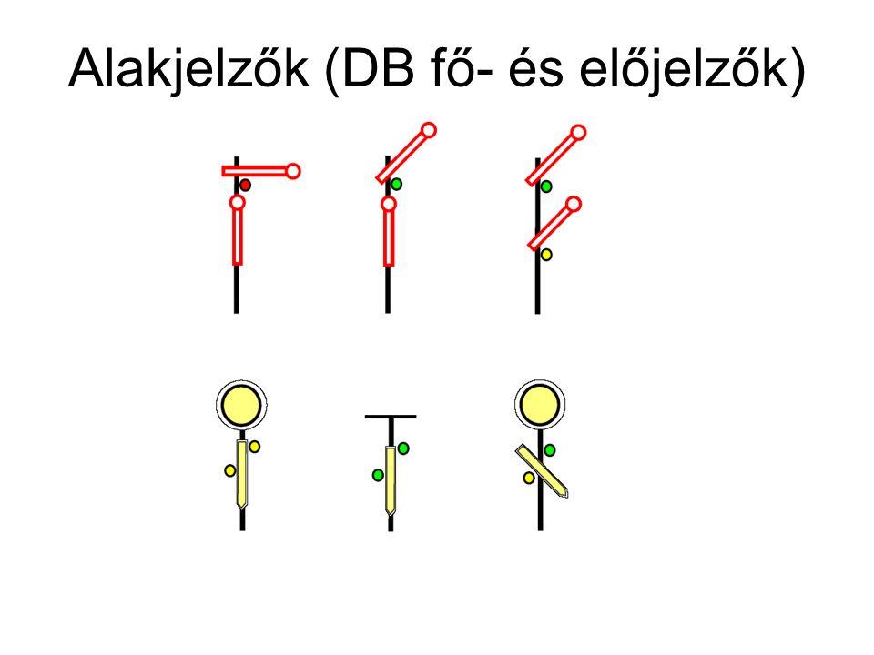 Alakjelzők (DB fő- és előjelzők)