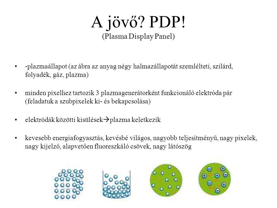 A jövő PDP! (Plasma Display Panel)
