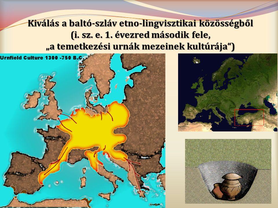 Kiválás a baltó-szláv etno-lingvisztikai közösségből (i. sz. e. 1
