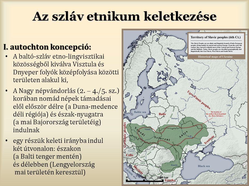 Az szláv etnikum keletkezése