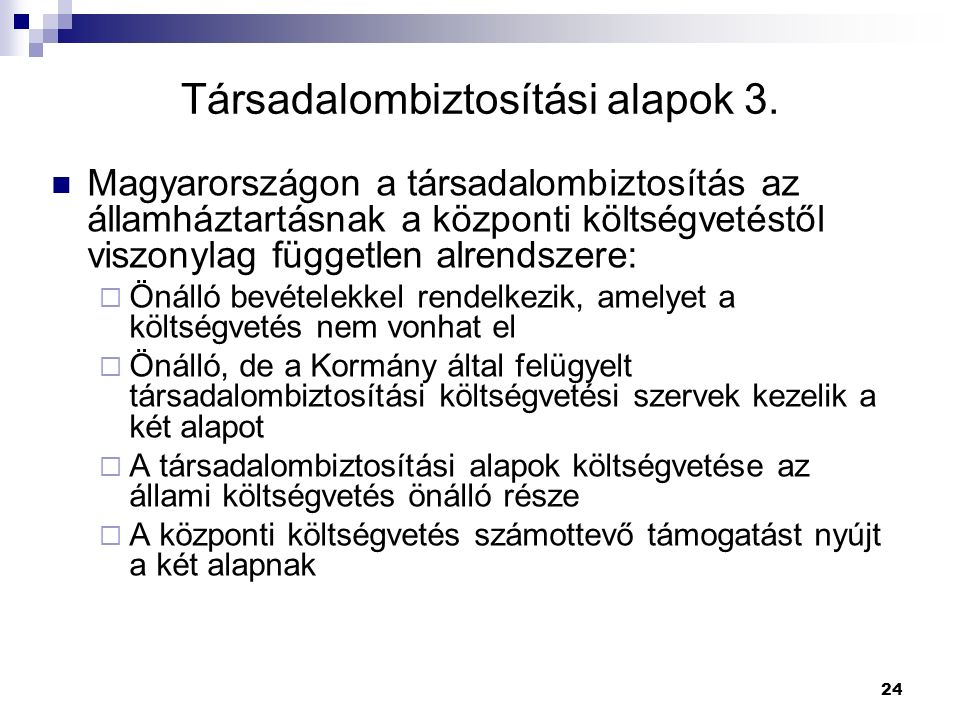 Társadalombiztosítási alapok 3.