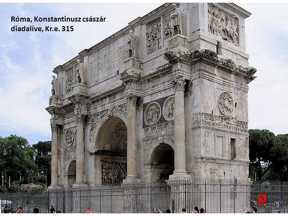 Róma, Konstantinusz császár