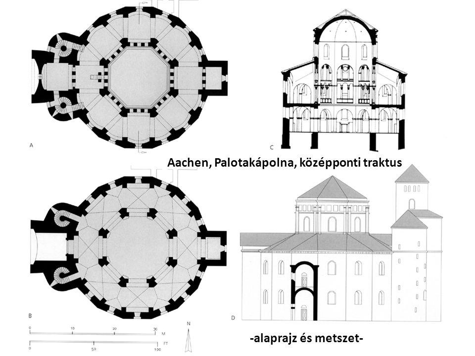 Aachen, Palotakápolna, középponti traktus