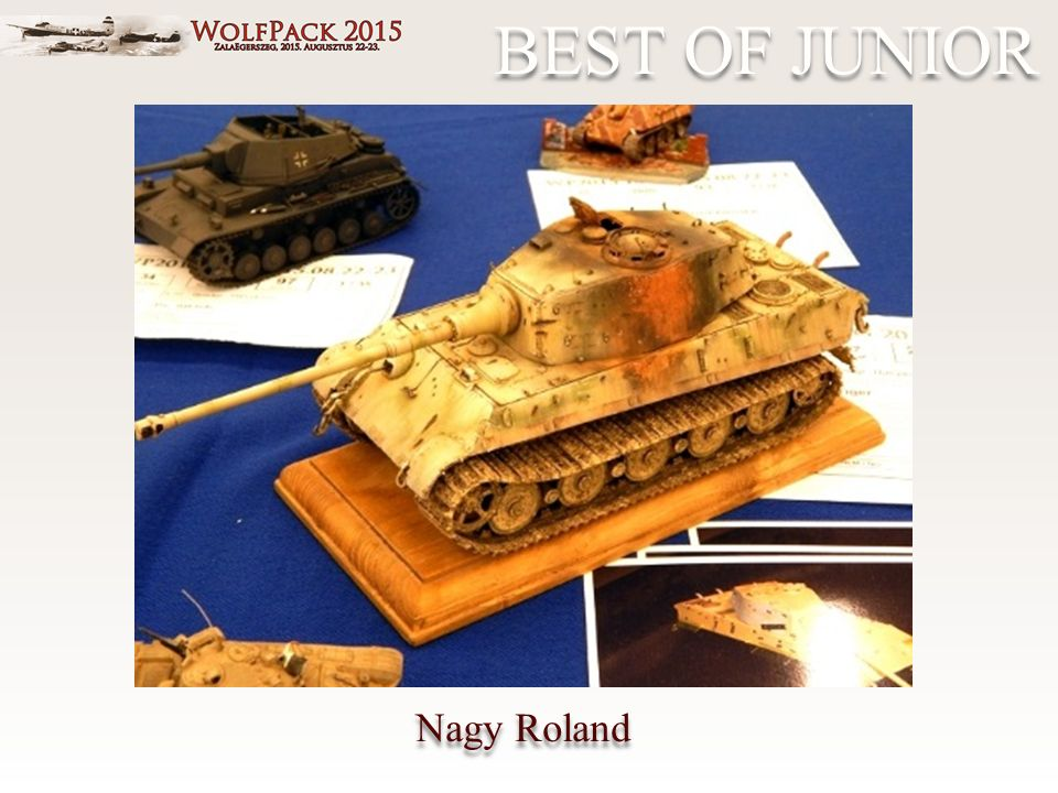 BEST OF JUNIOR Nagy Roland