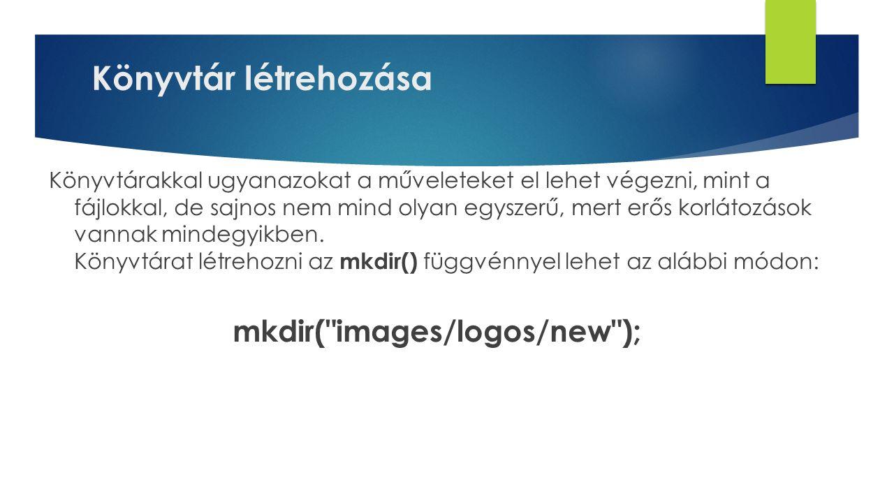 mkdir( images/logos/new );