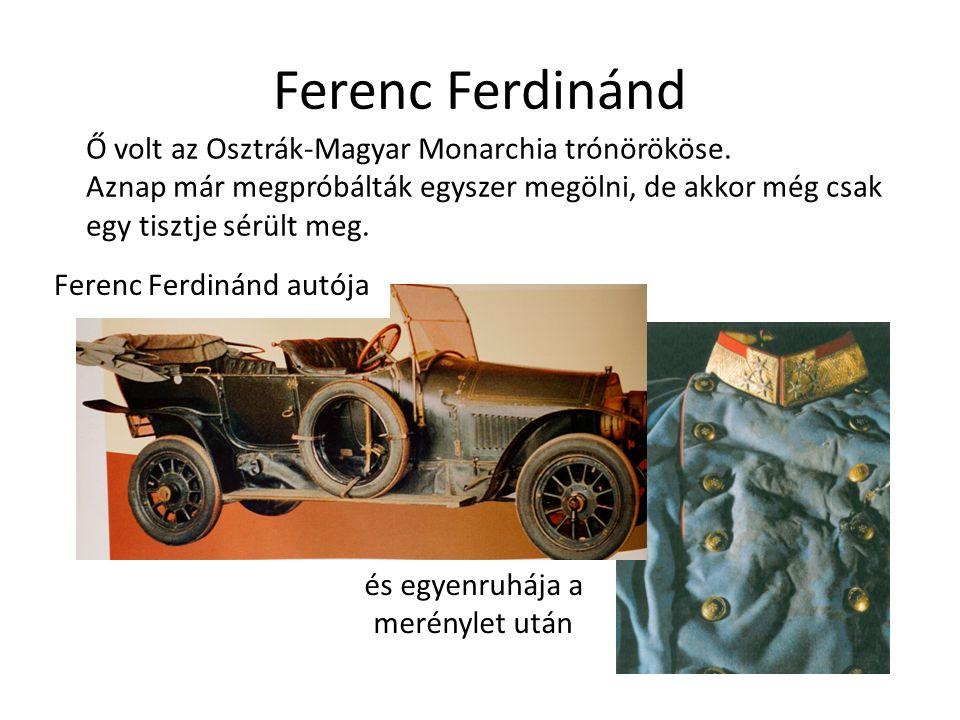 Ferenc Ferdinánd autója